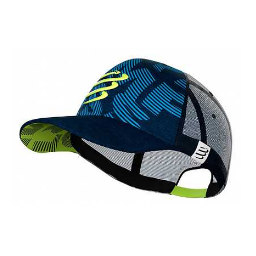 [INN03835] Gorra Compressport Trucker Azul