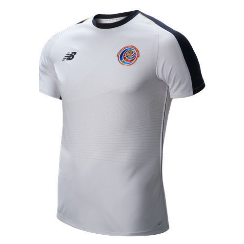 Camiseta Original New Balance C.R Mundialista Blanca Junior