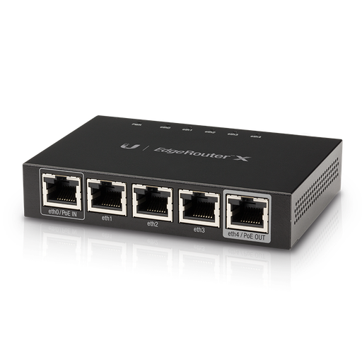 [INT1084] Ubiquiti EdgeRouter X - Router - GigE