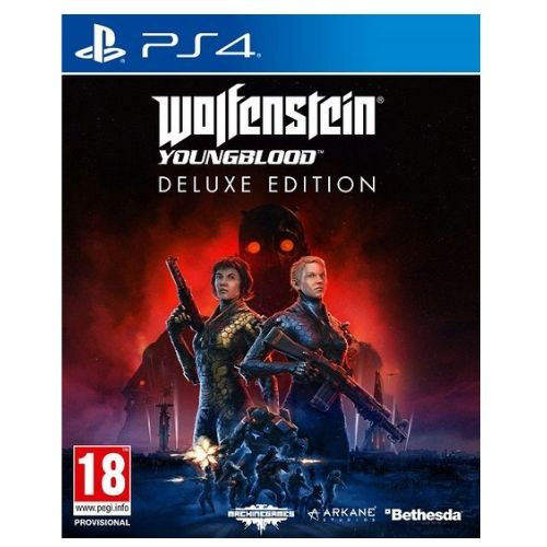 [INN0417] Juego Sony  PS4 Wolfenstein YoungBlood Deluxe Edition