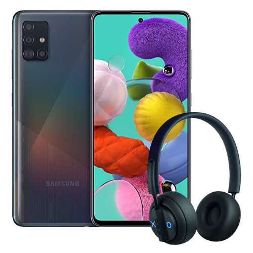 [INN01154] Combo Celular Samsung Galaxy  A51 + Audífonos Jam Out There