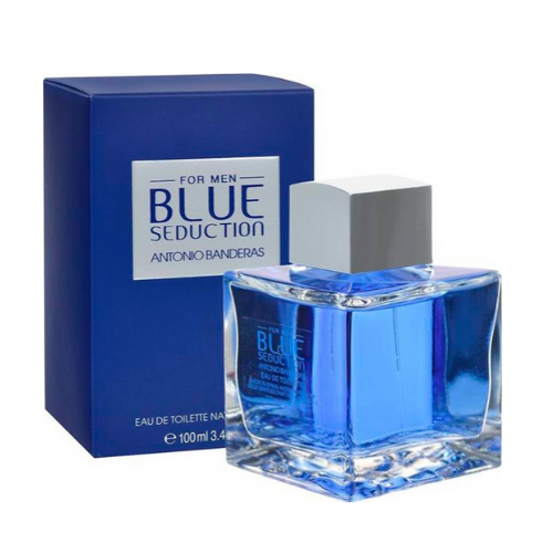 [INN0649] Perfume Blue Seduction Antonio Banderas 100-200 Caballero ML
