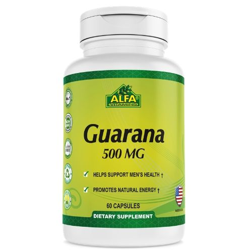 [INN0779] Vitaminas Alfa Guaraná 60 Capsulas