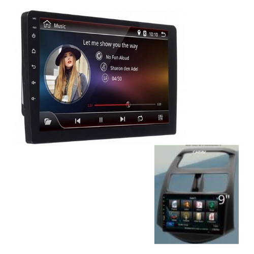 "[INN02530] Radio Android 9"" + Kit de Dash Spark 10-13"
