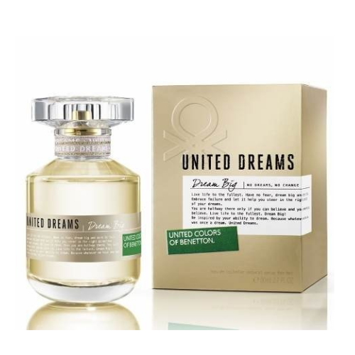 [INN02648] Perfume Benetton United Stay Dreams Dream Big 80 ML Mujer
